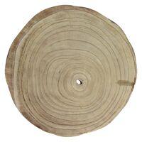 PURE - assiette - bois de paulownia - DIA 35 x H 3,5 cm