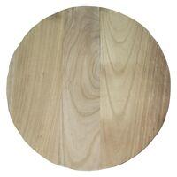 PURE - assiette - bois de paulownia - DIA 45 x H 3,5 cm