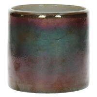 ESTER - tea light holder - glass - DIA 10 x H 10 cm