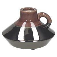 RETROCHIC-Vase-Céramique-Violet- dia 17.5 x 12 cm