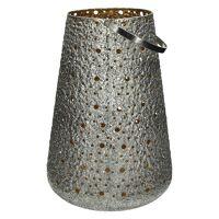 SHINY - lantaarn - metaal - DIA 29 x H 41 cm