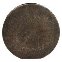 MOON-Vase-Aluminium-Ant.copper-S-29 x 30 cm