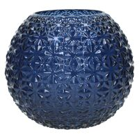 MOON-Vase-Glass-Blue-L- dia 25 x 22.5 cm