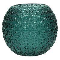 MOON-Vase-Verre-Bleu clair-M-dia 21 x 18 cm