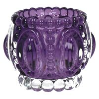 MEDAILLE-T/light-Glas-Purper- dia 11.5 x 9 cm