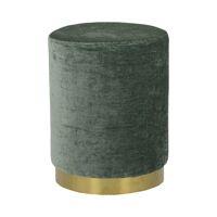 POMPADOUR  - velvet - DIA 35 x H 44 cm - groen