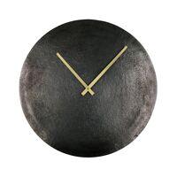 JIVE - klok - aluminium / metaal - DIA 60 cm - zwart
