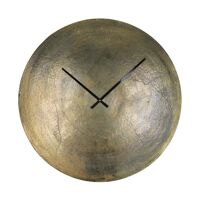 JIVE - clock - aluminium / metal - DIA 60 cm - brass