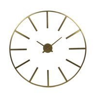 ZOULOU - wall clock - metal - DIA 80 cm - gold