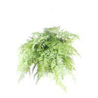 FERN - fougère artificielle - synthétique / métal - H 70 cm - vert