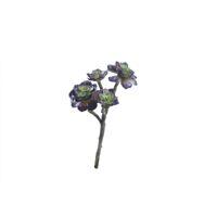 SUCCULENT - kunstplant - kunststof / metaal - H 41 cm - groen