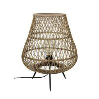 TAO - lampe - bambou - DIA 38 x H 45 cm