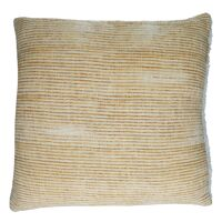 TOUDOU - cushion - cotton / lurex - L 45 x W 45 cm - amber