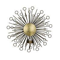 MEMOIRE - wandkandelaar - metaal - DIA 27,5 x W 11 cm - brass