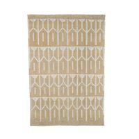 ARUBA - tapis - jute / laine - L 180 x W 120 cm - beige
