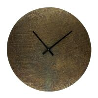 JUDE - clock - aluminium - DIA 60 x W 2 cm - brass