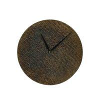 JUDE - clock - aluminium - DIA 20 x W 2 cm - brass