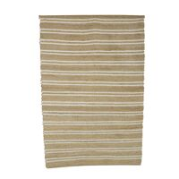EULARIA - rug - jute / cotton - L 180 x W 120 cm - natural