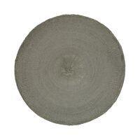 KOLORI - placemat - papier - DIA 38 cm - grijs