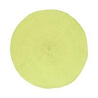 KOLORI - placemat - papier - DIA 38 cm - lime