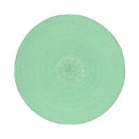 KOLORI - placemat - papier - DIA 38 cm - menthe