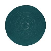 KOLORI - placemat - papier - DIA 38 cm - teal