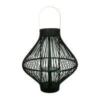 TULA - lantaarn - bamboe / metaal - DIA 45 x H 50 cm