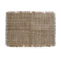 SHIKHA - set/4 placemats - linen / viscose - L 48 x W 33 cm - beige
