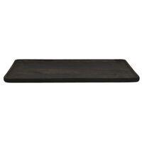 PUZZLE - plateau - bois de mangier - L 50 x W 32 x H 1,6 cm - noir