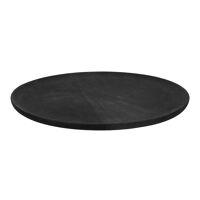 BILBAO - plateau - bois de mangier - DIA 40 x H 1,6 cm - noir