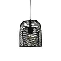 KABU - suspension - fer - DIA 19 x H 22 cm - noir