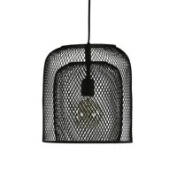 KABU - hanglamp - ijzer - DIA 29 x H 32 cm - zwart
