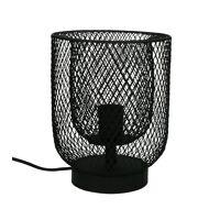 KABU - lampe de table - fer - DIA 19 x H 25 cm - noir