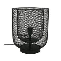 KABU - lampe de table - fer - DIA 29 x H 35 cm - noir