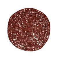 MEKKO - placemat - paper - DIA 38 cm - burgundy