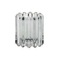 BROOKLYN CANET - t/light - verre / métal - DIA 6 x H 7 cm - transparent
