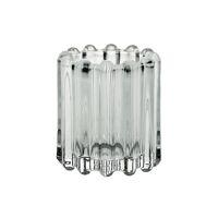 BROOKLYN CANET - t/light - glass / metal - DIA 6 x H 7 cm - clear