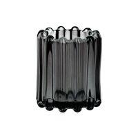 BROOKLYN CANET - t/light - glass / metal - DIA 6 x H 7 cm - grey