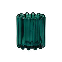 BROOKLYN CANET - t/light - glass / metal - DIA 6 x H 7 cm - teal