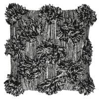 JONZ - cushion - cotton - L 45 x W 45 cm - black/white