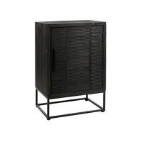 DURBAN  - kast - den - L 55 x W 40 x H 85 cm - zwart