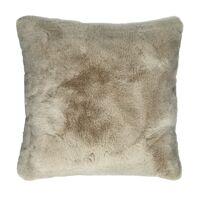 FLUF - kussen - acryl / polyester - L 45 x W 45 cm - gebroken wit