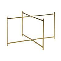 FLEX - legs L - metal - L 67,5 x W 67,5 x H 38 cm - gold