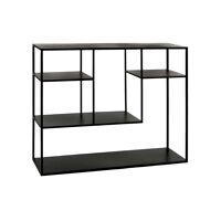 ESZENTIAL - rack - metal - L 100 x W 30 x H 80 cm - black