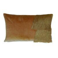 FROU' - cushion - velvet - L 50 x W 30 cm - camel