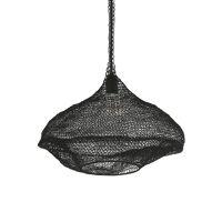 LOOP - hanging lamp - metal - DIA 45 x H 30 cm  - black