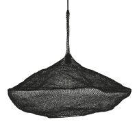 LOOP - lampe suspendue - métal - DIA 79 x H 40 cm  - noir