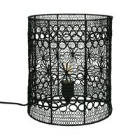 MAZE - table lamp - metal - DIA 25 x H 30 cm  - black