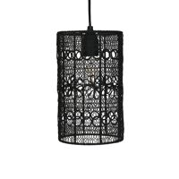 MAZE - hanging lamp - metal - DIA 15 x H 25 cm  - black