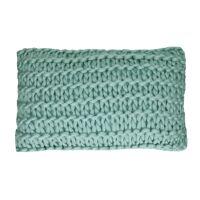 NITTU - cushion - acrylic - L 50 x W 30 cm - aqua